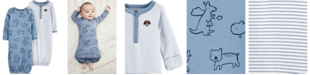 Carter's Baby Boys 2-Pack Cotton Sleeper Gowns