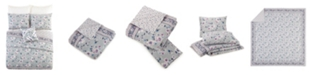 Jessica Simpson Vera Bradley Park Stripes King Quilt