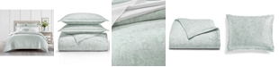 Charter Club Sleep Luxe Aloe Scroll Cotton 800 Thread Count Comforter Collection, Created for Macy's