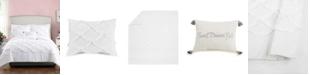 Jessica Simpson 4 Piece Ruffled Scallop Full/Queen Comforter Set