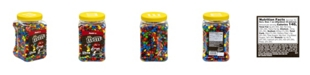 M&M's Milk Chocolate Candies Jar, 62 oz