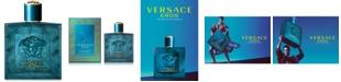 Versace Men's Eros Eau de Parfum Spray, 3.4-oz.