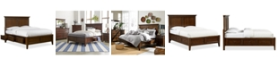 Furniture Matteo Storage Platform Queen Bed, Created for Macy's