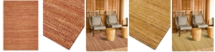 D Style CLOSEOUT! Natural Jute 8' x 10' Area Rug