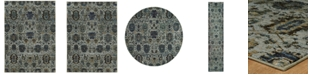 "JHB Design Journey Amizade Blue 2' 6"" x 12' Area Rug"