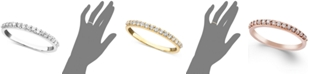 Macy's Diamond Ring in 14k White, Yellow or Rose Gold (1/4 ct. t.w.)