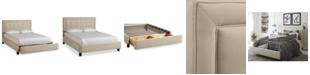 Furniture Sulinda Upholstered Storage Queen Bed
