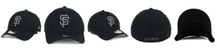 New Era San Francisco Giants Black and Charcoal Classic 39THIRTY Cap
