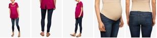 A Pea in the Pod Articles Of Society Maternity Dark Wash Skinny Jeans