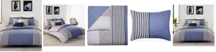 Lacoste Home Lacoste Meribel Colorblocked King Reversible Comforter Set