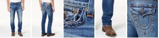 True Religion Men's Straight Fit Stretch Jeans
