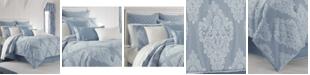 Piper & Wright Ansonia Indigo 4-Pc. Queen Comforter Set
