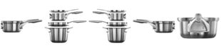 Calphalon Premier Space-Saving Stainless Steel 1.5-Qt. Saucepan & Lid