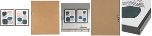 JLA Home Urban Habitat Grey Rock Garden 2-Pc. Framed Gel-Coated Canvas Print Set