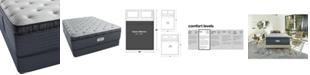 """Beautyrest Platinum Preferred Cedar Ridge 16"""" Luxury Firm Pillow Top Mattress Set- Queen"""
