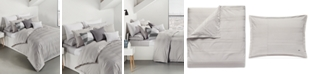Lacoste Home Sideline Cotton 3-Pc. Dobby Stripe King Duvet Cover Set, Created for Macy's