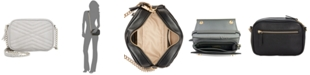 INC International Concepts I.N.C. Glam Quilted Camera Crossbody, Created for Macy's