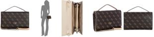 GUESS Kamryn Signature Top Handle Crossbody Wallet