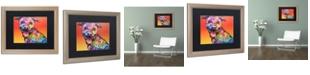 "Trademark Global Dean Russo 'All Smiles' Matted Framed Art - 16"" x 20"""