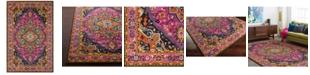 """Surya Anika ANI-1001 Bright Pink 18"""" Square Swatch"""