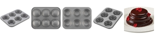 Cake Boss Nonstick 6-Cup Round Cakelette Pan