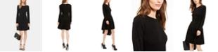 Michael Kors Embellished Shirred Dress, Regular & Petite Sizes