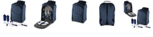 Picnic Time Colorado Picnic Cooler Navy Backpack