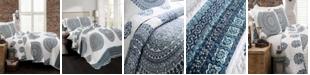 Lush Decor Shaila Medallion 3-Pc Set Full/Queen Quilt Set