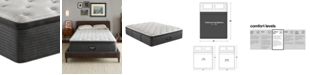 "Beautyrest BRS900-C-TSS 16.5"" Medium Firm Pillow Top Mattress - California King, Created For Macy's"
