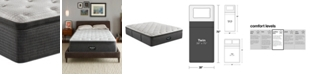 "Beautyrest BRS900-C-TSS 16.5"" Medium Firm Pillow Top Mattress - Twin, Created for Macy's"