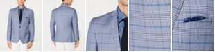 Nick Graham Men's Stretch Slim-Fit Plaid Sport Coat