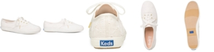 Keds Women's Champion Eyelet Lace-Up Sneakers