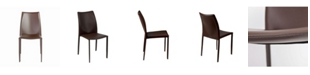 Euro Style Dalia Stacking Side Chair - Set Of 2