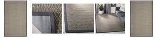 Safavieh Natural Fiber Natural and Dark Gray 5' x 8' Sisal Weave Area Rug