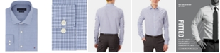 Tommy Hilfiger Men's Slim-Fit Stretch Check Dress Shirt, Online Exclusive Created for Macy's
