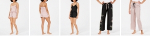 INC International Concepts INC Scalloped-Edge Camisole Top and Shorts Sleep Separates, Created for Macy's