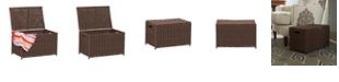 Household Essentials Small Wicker Storage Chest