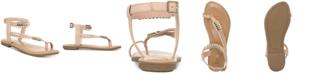 Bar III Vella Flat Sandals, Created for Macy's