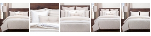 Siscovers Farmhouse Barley Striped 6 Piece King Luxury Duvet Set