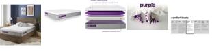 "Purple .3 12"" Cushion Firm Mattress Collection"