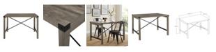 "Walker Edison 48"" Industrial Farmhouse Dining Table"