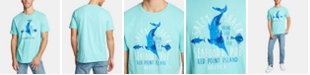 Nautica Men's Salty Shack Cotton Graphic T-Shirt, Created for Macy's