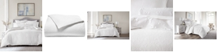 Hotel Collection Classic White Matelasse Full/Queen Duvet Cover, Created for Macy's