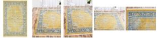 """Bridgeport Home Kenna Ken1 Yellow 4' 3"""" x 6' Area Rug"""