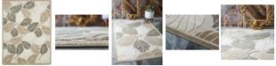 Bridgeport Home Pashio Pas2 Beige/Gray 9' x 12' Area Rug