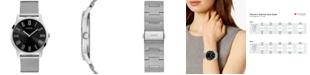 GUESS Men's Stainless Steel Mesh Bracelet Watch 44mm