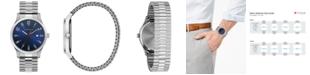 Caravelle Men's Stainless Steel Bracelet Watch 40mm