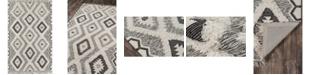 """Novogratz Collection Novogratz Indio Ind-5 Black 2'3"""" x 7'10"""" Runner Area Rug"""