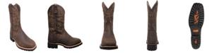 """AdTec Men's 12"""" Steel Toe Work Western Boot"""