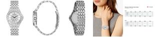 Bulova Women's Phantom Stainless Steel Bracelet Watch 32mm